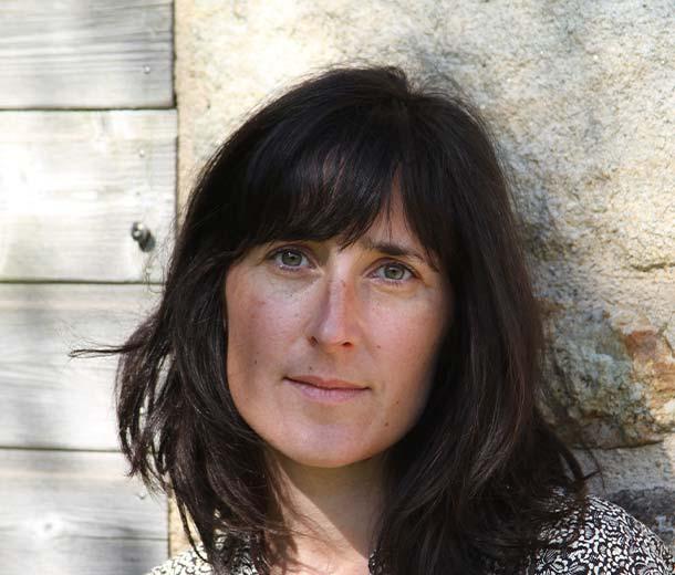 portrait Annie Bocel estampe gravure poinçons typographiques bretagne artisan